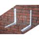 Кронштейны для крепления внешнего блока сплит-системы снаружи здания